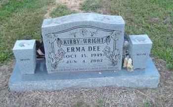 KIRBY WRIGHT, ERMA DEE - Delaware County, Oklahoma | ERMA DEE KIRBY WRIGHT - Oklahoma Gravestone Photos