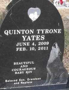 YATES, QUINTON TYRONE - Delaware County, Oklahoma | QUINTON TYRONE YATES - Oklahoma Gravestone Photos