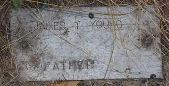 YOUNG, JAMES T - Delaware County, Oklahoma | JAMES T YOUNG - Oklahoma Gravestone Photos