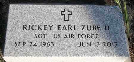 ZUBE II (VETERAN), RICKEY EARL - Delaware County, Oklahoma | RICKEY EARL ZUBE II (VETERAN) - Oklahoma Gravestone Photos