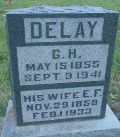 DELAY, E F - Grady County, Oklahoma   E F DELAY - Oklahoma Gravestone Photos