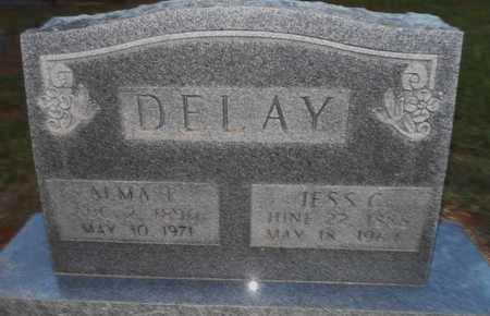 DELAY, JESS G - Grady County, Oklahoma | JESS G DELAY - Oklahoma Gravestone Photos