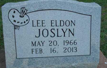 JOSLYN, LEE ELDON - Grady County, Oklahoma | LEE ELDON JOSLYN - Oklahoma Gravestone Photos
