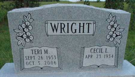 WRIGHT, TERRI M - Grady County, Oklahoma | TERRI M WRIGHT - Oklahoma Gravestone Photos