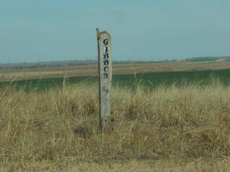 *GIBBON, COMMUNITY SIGN - Grant County, Oklahoma | COMMUNITY SIGN *GIBBON - Oklahoma Gravestone Photos