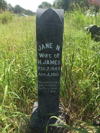 JAMES, NANCY JANE - Grant County, Oklahoma | NANCY JANE JAMES - Oklahoma Gravestone Photos