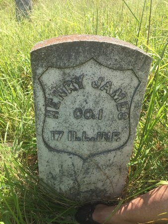 JAMES (VETERAN USA), HENRY JAMES - Grant County, Oklahoma | HENRY JAMES JAMES (VETERAN USA) - Oklahoma Gravestone Photos