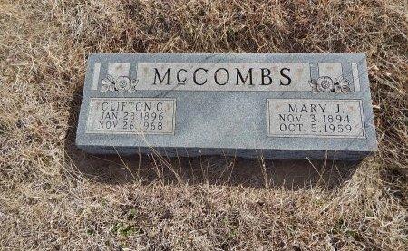 MCCOMBS, CLIFTON C - Grant County, Oklahoma | CLIFTON C MCCOMBS - Oklahoma Gravestone Photos