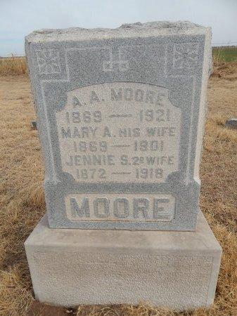 MOORE, ASA A - Grant County, Oklahoma | ASA A MOORE - Oklahoma Gravestone Photos