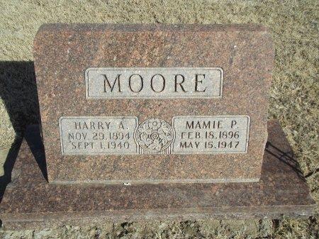 MOORE, MAMIE P - Grant County, Oklahoma   MAMIE P MOORE - Oklahoma Gravestone Photos