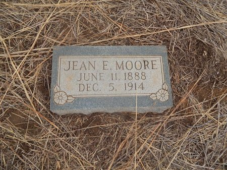 MOORE, JEAN E - Grant County, Oklahoma | JEAN E MOORE - Oklahoma Gravestone Photos