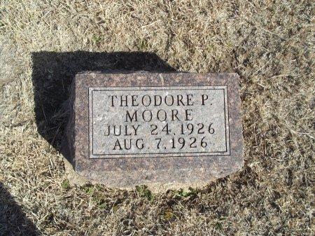 MOORE, THEODORE P - Grant County, Oklahoma   THEODORE P MOORE - Oklahoma Gravestone Photos