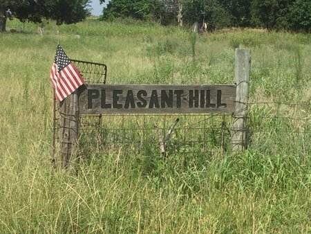 *PLEASANT HILL CEMETERY SIGN, . - Grant County, Oklahoma | . *PLEASANT HILL CEMETERY SIGN - Oklahoma Gravestone Photos