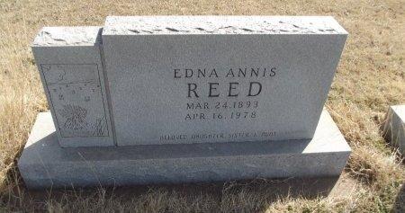 REED, EDNA - Grant County, Oklahoma   EDNA REED - Oklahoma Gravestone Photos