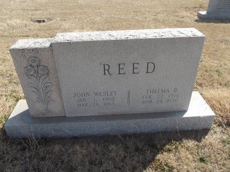 REED, THELMA B - Grant County, Oklahoma   THELMA B REED - Oklahoma Gravestone Photos
