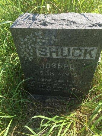 SHUCK, JOSEPH - Grant County, Oklahoma | JOSEPH SHUCK - Oklahoma Gravestone Photos