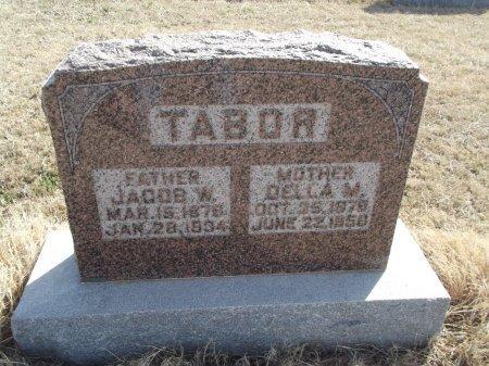 TABOR, JACOB W - Grant County, Oklahoma | JACOB W TABOR - Oklahoma Gravestone Photos