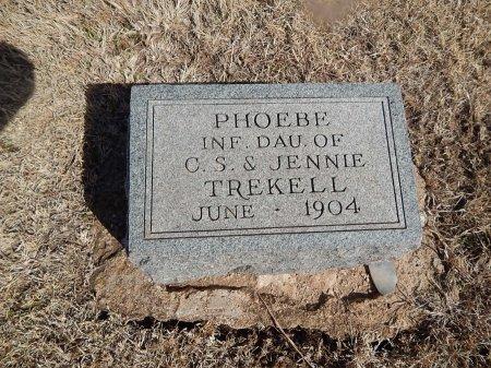 TREKELL, PHOEBE - Grant County, Oklahoma | PHOEBE TREKELL - Oklahoma Gravestone Photos