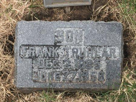TRUHLAR, FRANK - Grant County, Oklahoma | FRANK TRUHLAR - Oklahoma Gravestone Photos