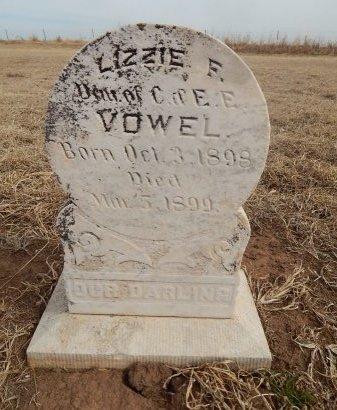 VOWEL, LIZZIE F - Grant County, Oklahoma   LIZZIE F VOWEL - Oklahoma Gravestone Photos