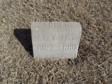WHITE, ANNE R - Grant County, Oklahoma | ANNE R WHITE - Oklahoma Gravestone Photos