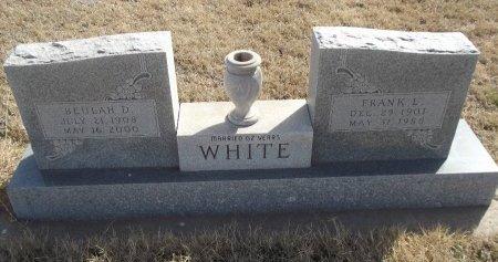 WHITE, BEULAH D - Grant County, Oklahoma   BEULAH D WHITE - Oklahoma Gravestone Photos