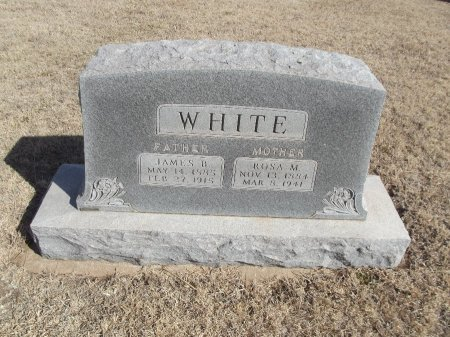 WHITE, JAMES B - Grant County, Oklahoma | JAMES B WHITE - Oklahoma Gravestone Photos