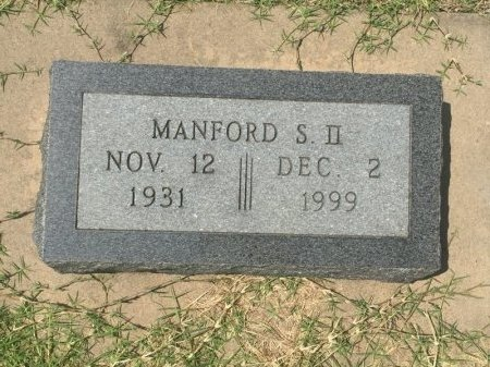 WHITE, MANFORD S II - Grant County, Oklahoma | MANFORD S II WHITE - Oklahoma Gravestone Photos