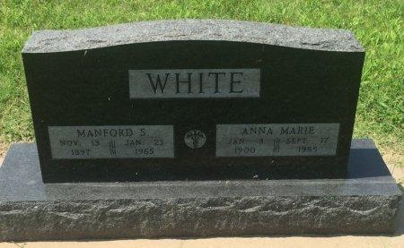 WHITE, MANFORD S - Grant County, Oklahoma | MANFORD S WHITE - Oklahoma Gravestone Photos