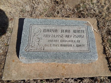 WHITE, MARVA JEAN - Grant County, Oklahoma | MARVA JEAN WHITE - Oklahoma Gravestone Photos