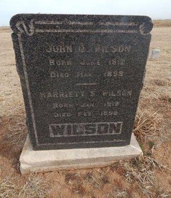 WILSON, JOHN D - Grant County, Oklahoma | JOHN D WILSON - Oklahoma Gravestone Photos