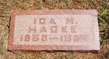 HAGEE, IDA MAY - Greer County, Oklahoma | IDA MAY HAGEE - Oklahoma Gravestone Photos