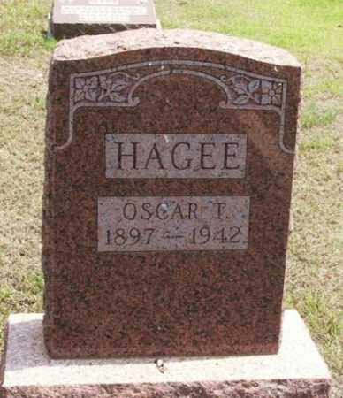 HAGEE, OSCAR T - Greer County, Oklahoma   OSCAR T HAGEE - Oklahoma Gravestone Photos