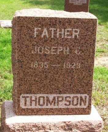 THOMPSON, JOSEPH C - Greer County, Oklahoma | JOSEPH C THOMPSON - Oklahoma Gravestone Photos