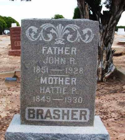 BRASHER, HATTIE P - Harmon County, Oklahoma | HATTIE P BRASHER - Oklahoma Gravestone Photos