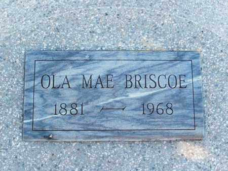 BRISCO, OLA MAE - Harmon County, Oklahoma | OLA MAE BRISCO - Oklahoma Gravestone Photos