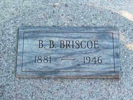 BRISCOE, B B - Harmon County, Oklahoma   B B BRISCOE - Oklahoma Gravestone Photos