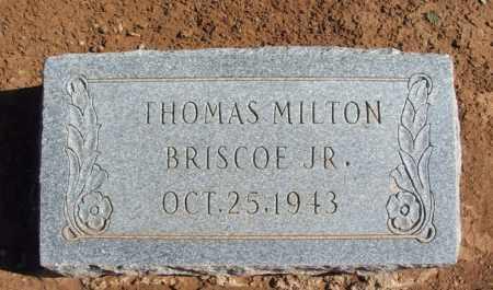 BRISCOE, JR, THOMAS MILTON - Harmon County, Oklahoma | THOMAS MILTON BRISCOE, JR - Oklahoma Gravestone Photos