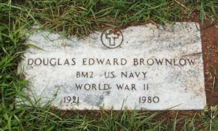 BROWNLOW  (VETERAN WWII), DOUGLAS EDWARD - Harmon County, Oklahoma | DOUGLAS EDWARD BROWNLOW  (VETERAN WWII) - Oklahoma Gravestone Photos