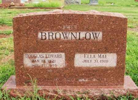 BROWNLOW, ELLA MAE - Harmon County, Oklahoma | ELLA MAE BROWNLOW - Oklahoma Gravestone Photos