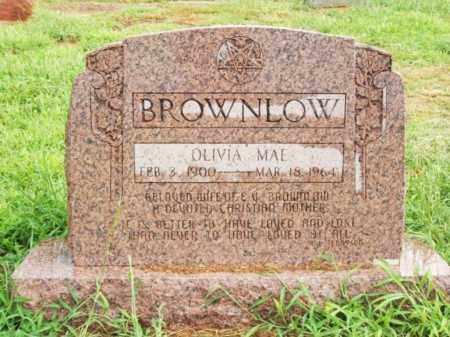 BROWNLOW, OLIVIA MAE - Harmon County, Oklahoma   OLIVIA MAE BROWNLOW - Oklahoma Gravestone Photos