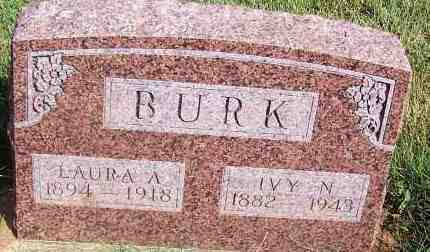 BURK, IVY N - Harmon County, Oklahoma   IVY N BURK - Oklahoma Gravestone Photos