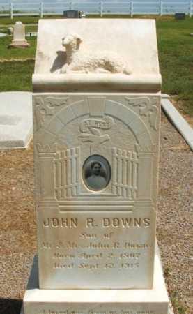 DOWNS, JOHN R - Harmon County, Oklahoma | JOHN R DOWNS - Oklahoma Gravestone Photos