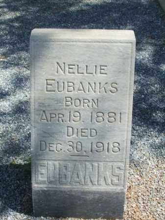 EUBANKS, NELLIE - Harmon County, Oklahoma | NELLIE EUBANKS - Oklahoma Gravestone Photos