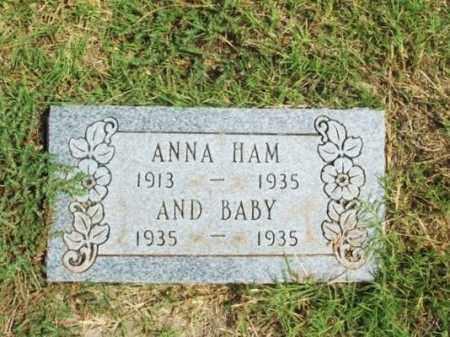 HAM, BABY - Harmon County, Oklahoma | BABY HAM - Oklahoma Gravestone Photos