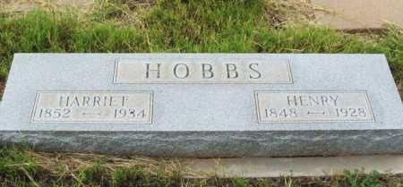 BROWN HOBBS, HARRIET - Harmon County, Oklahoma | HARRIET BROWN HOBBS - Oklahoma Gravestone Photos