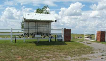 *INDEPENDENCE, *ENTRANCE - Harmon County, Oklahoma | *ENTRANCE *INDEPENDENCE - Oklahoma Gravestone Photos