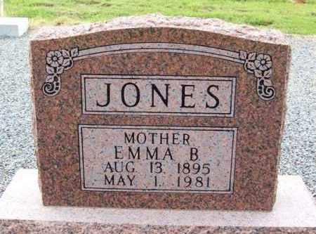 HOBBS JONES, EMMA BROWN - Harmon County, Oklahoma   EMMA BROWN HOBBS JONES - Oklahoma Gravestone Photos