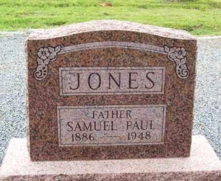 JONES, SAMUEL PAUL - Harmon County, Oklahoma   SAMUEL PAUL JONES - Oklahoma Gravestone Photos