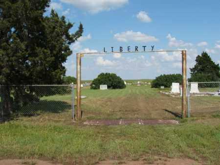 *LIBERTY, *ENTRANCE - Harmon County, Oklahoma | *ENTRANCE *LIBERTY - Oklahoma Gravestone Photos